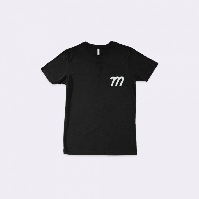 henley t-shirt mockup generator