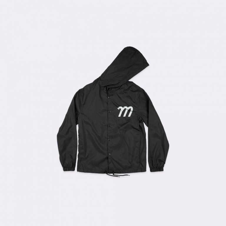 hooded coaches jacket mockup generator