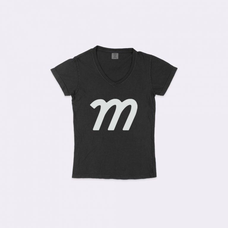 v-neck t-shirt mockup generator
