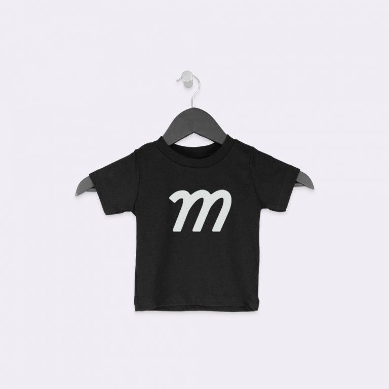 hanging baby t-shirt mockup generator
