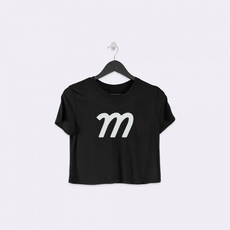 hanging crop t-shirt mockup generator