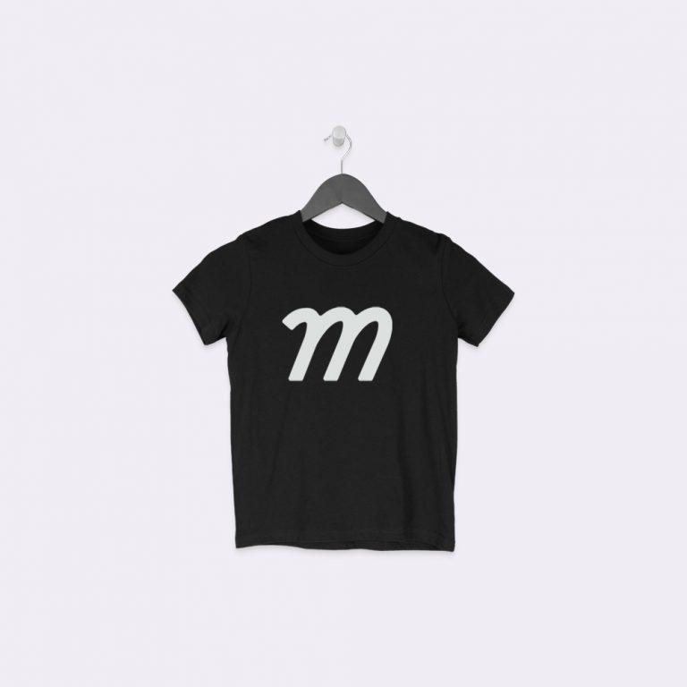 hanging kids t-shirt mockup generator