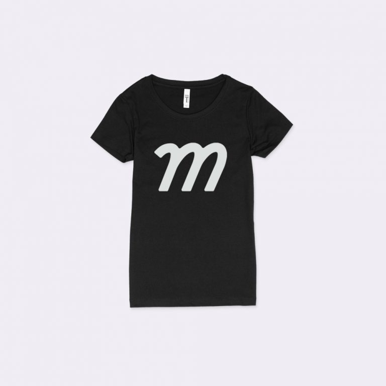scoop neck t-shirt mockup generator
